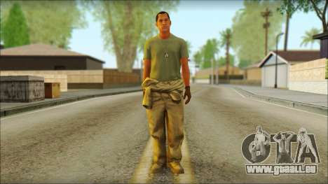 GTA 5 Soldier v3 pour GTA San Andreas