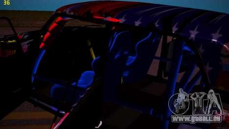 VAZ 2105 Drift für GTA San Andreas Seitenansicht