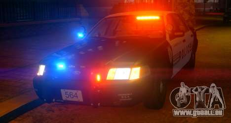 Ford Crown Victoria LCPD [ELS] Slicktop für GTA 4 linke Ansicht