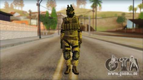 Les soldats de l'UNION européenne (AVA) v4 pour GTA San Andreas