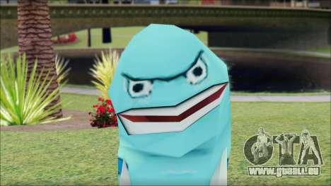 Blufish from Sponge Bob für GTA San Andreas dritten Screenshot
