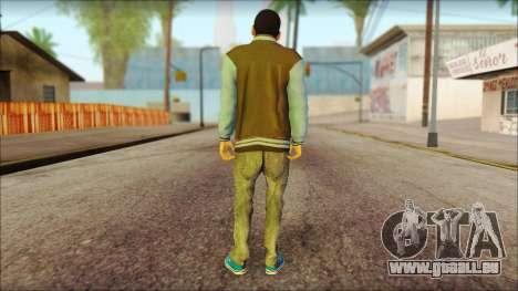 Los Aztecas Gang Skin v2 für GTA San Andreas zweiten Screenshot