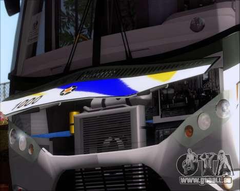 Marcopolo Ideale 770 - Volksbus 17-230 EOD pour GTA San Andreas vue intérieure