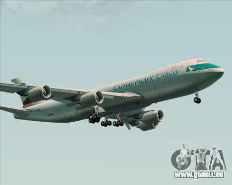 Boeing 747-8 Cargo Cathay Pacific Cargo pour GTA San Andreas vue de dessus