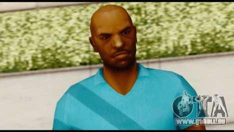 Blue Shirt Vic für GTA San Andreas dritten Screenshot