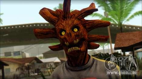 Guardians of the Galaxy Groot v1 pour GTA San Andreas troisième écran