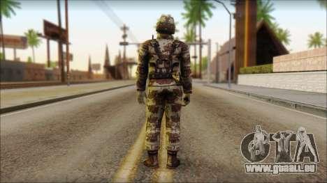 Navy Seal Soldier für GTA San Andreas zweiten Screenshot