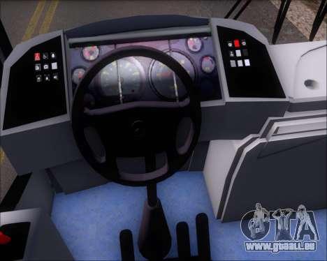Comil Svelto BRT Scania K310IB 6x2 Sorocaba für GTA San Andreas Unteransicht
