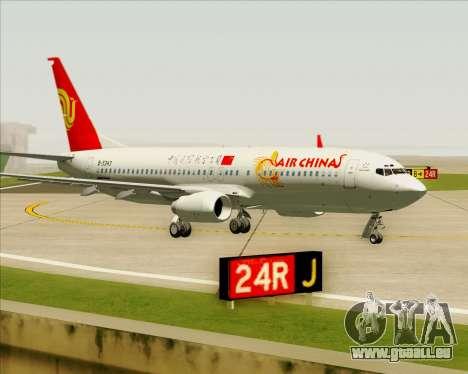 Boeing 737-89L Air China pour GTA San Andreas laissé vue
