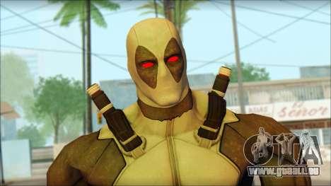Xforce Deadpool The Game Cable pour GTA San Andreas troisième écran