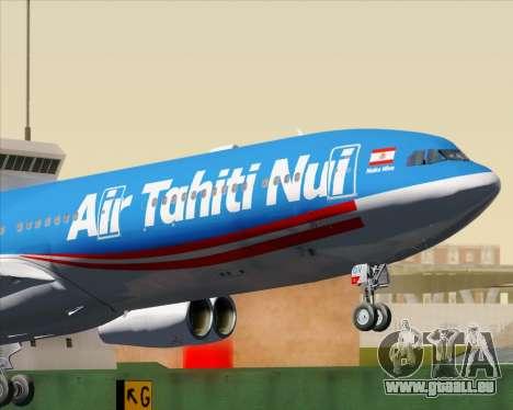 Airbus A340-313 Air Tahiti Nui pour GTA San Andreas moteur