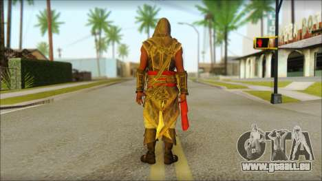 Adewale from Assassins Creed 4: Freedom Cry pour GTA San Andreas deuxième écran