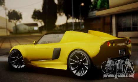 Voltic from GTA 5 (IVF) für GTA San Andreas linke Ansicht