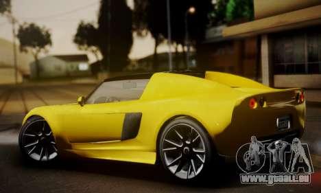 Voltic from GTA 5 (IVF) pour GTA San Andreas laissé vue