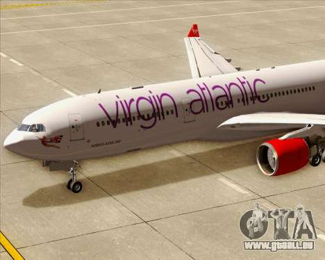 Airbus A330-300 Virgin Atlantic Airways für GTA San Andreas Innen