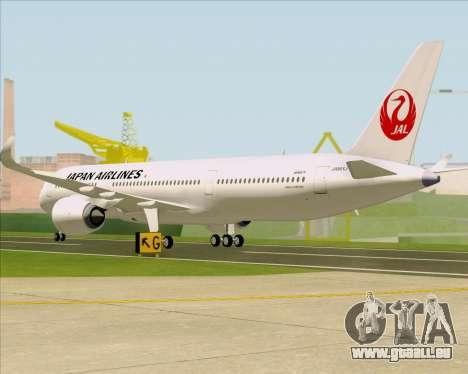 Airbus A350-941 Japan Airlines für GTA San Andreas rechten Ansicht