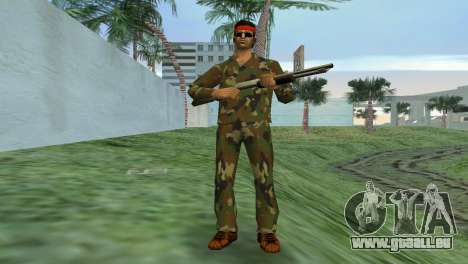 Camo Skin 02 für GTA Vice City zweiten Screenshot