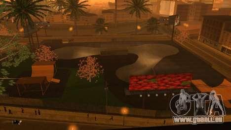 La Texture du skate Park et un hôpital de Los Sa pour GTA San Andreas deuxième écran