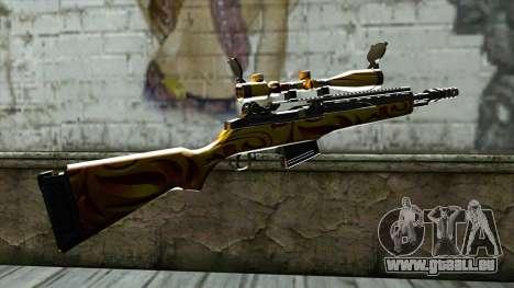 Nitro Sniper Rifle für GTA San Andreas zweiten Screenshot