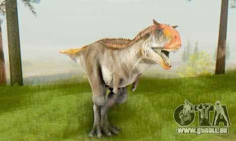 Carnotaurus für GTA San Andreas her Screenshot