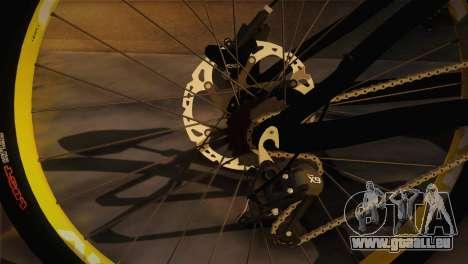 Banshee Rampant Bike pour GTA San Andreas sur la vue arrière gauche