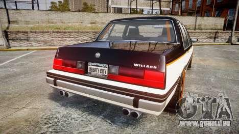 Willard Watch Dogs Black Viceroys pour GTA 4 Vue arrière de la gauche