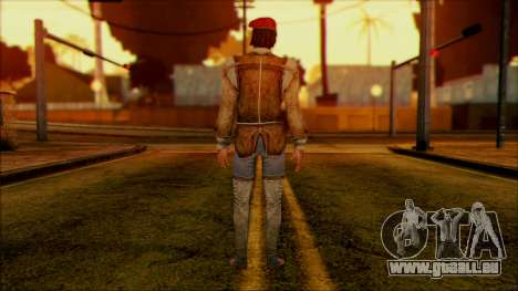 Ezio from Assassins Creed pour GTA San Andreas deuxième écran