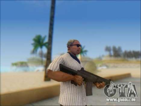 Israélien carabine ACE 21 pour GTA San Andreas quatrième écran