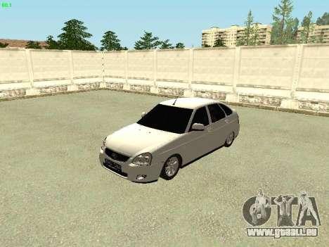 Lada 2172 Priora pour GTA San Andreas laissé vue