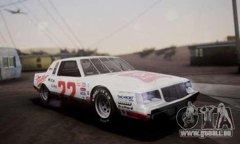 Buick Regal 1983 pour GTA San Andreas vue de dessus