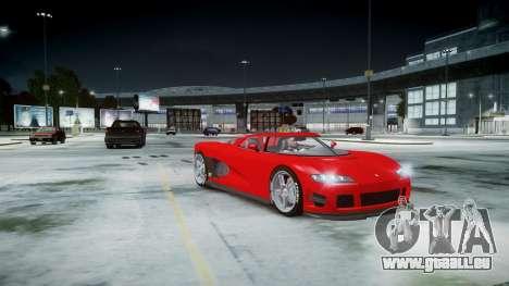 Entity XF für GTA 4 Rückansicht