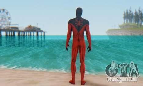 Skin The Amazing Spider Man 2 - Scarlet Spider pour GTA San Andreas troisième écran