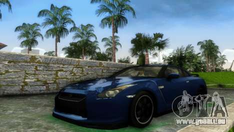 Nissan GT-R SpecV Black Revel pour GTA Vice City