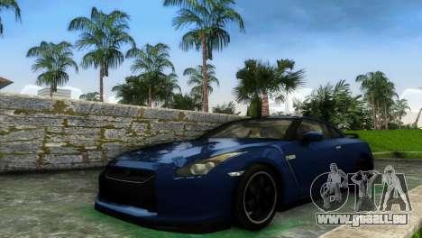 Nissan GT-R SpecV Black Revel für GTA Vice City