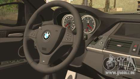 BMW X6M Lumma für GTA San Andreas zurück linke Ansicht