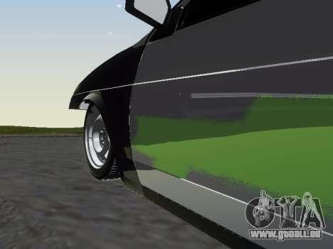 VAZ 2109 pour GTA San Andreas vue de dessous
