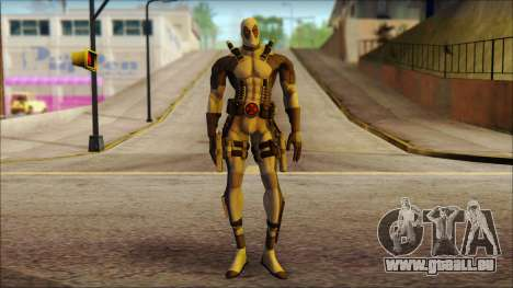 Xforce Deadpool The Game Cable pour GTA San Andreas