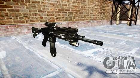 Fusil automatique Colt M4A1 fantômes pour GTA 4