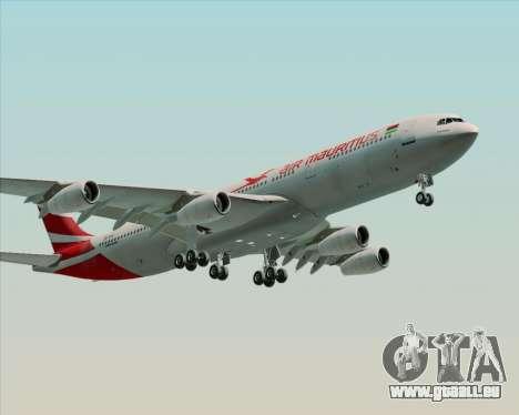 Airbus A340-312 Air Mauritius pour GTA San Andreas laissé vue