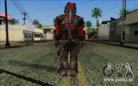 John Carver from Dead Space 3 pour GTA San Andreas deuxième écran