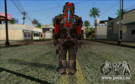 John Carver from Dead Space 3 für GTA San Andreas zweiten Screenshot