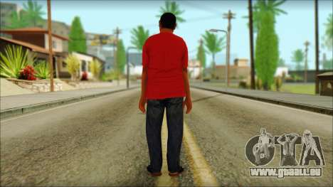 GTA 5 Ped 22 pour GTA San Andreas deuxième écran