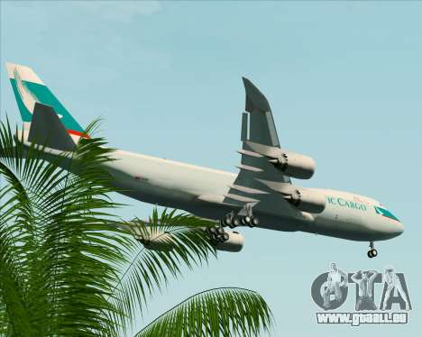 Boeing 747-8 Cargo Cathay Pacific Cargo pour GTA San Andreas roue