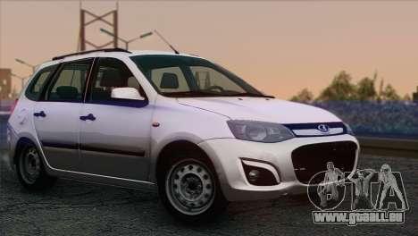 Lada Kalina 2 Wagen für GTA San Andreas
