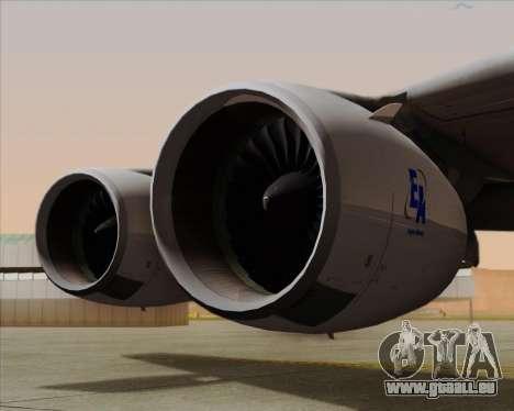 Airbus A380-861 für GTA San Andreas Seitenansicht