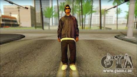 Eazy-E Blue v2 pour GTA San Andreas