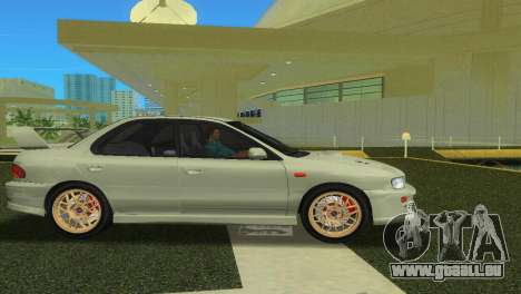 Subaru Impreza WRX STI GC8 Sedan Type 2 für GTA Vice City rechten Ansicht