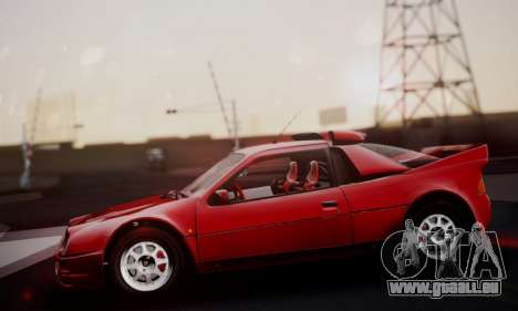 Ford RS200 Evolution 1985 pour GTA San Andreas vue de côté
