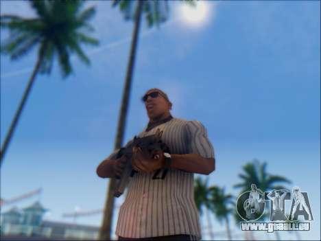 Israélien carabine ACE 21 pour GTA San Andreas sixième écran