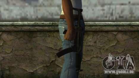 TheCrazyGamer MP5 für GTA San Andreas dritten Screenshot